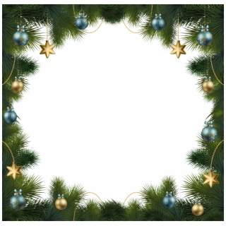 Free Christmas Photo Frame Templates.