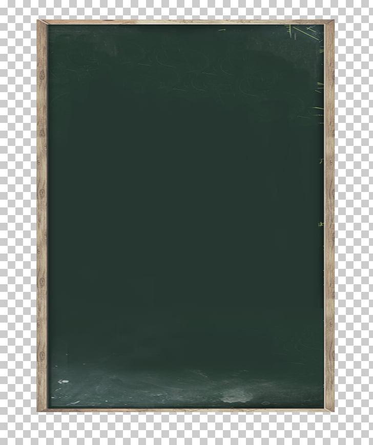 Pizarra verde rectangular, pizarra marco verde, pizarra.