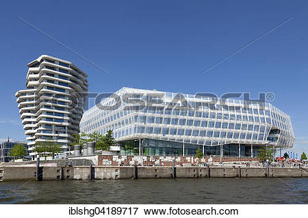 Picture of Marco Polo Tower, Unilever House, Hamburg, Germany.