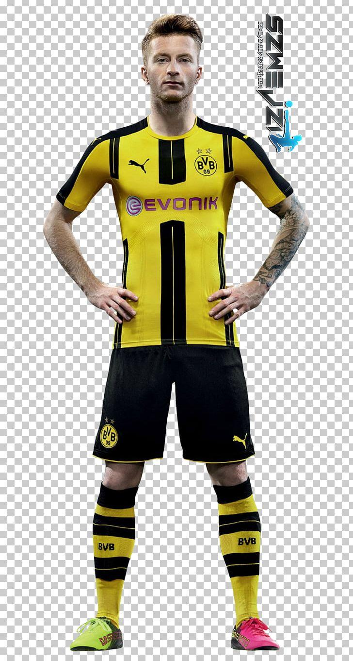 Marco Reus Borussia Dortmund Jersey FIFA 17 Football Player.