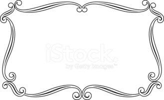Vector Elegance Frame Stock Vector.