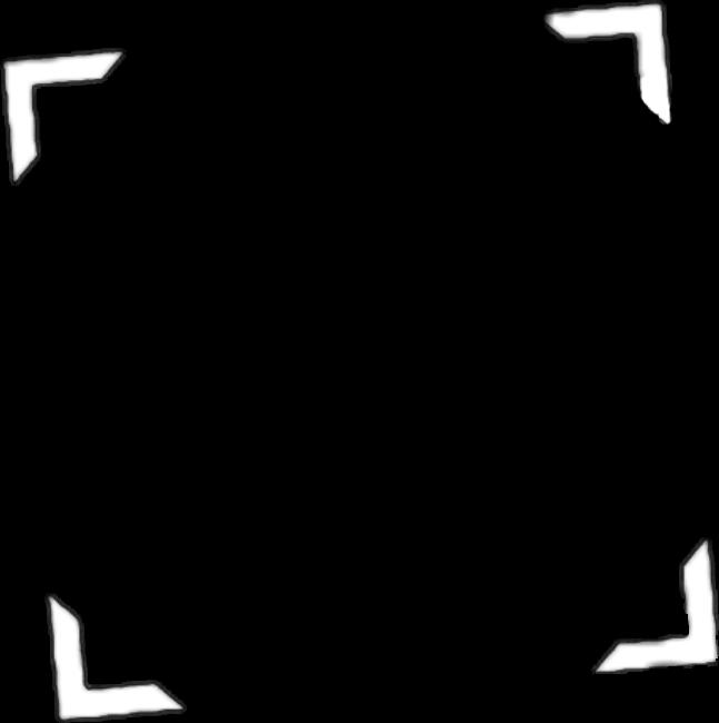 marco recuadro tumblr icon blanco png.