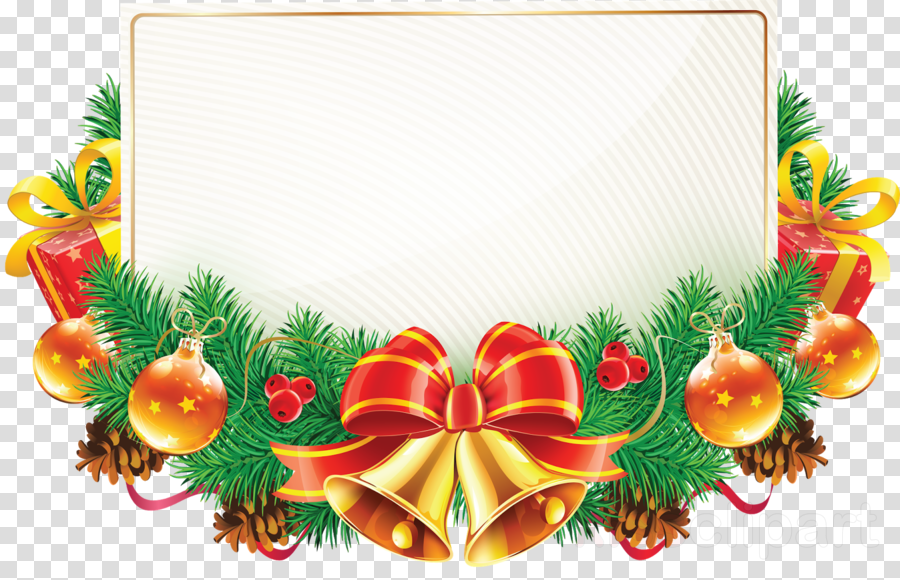 Christmas Frame High Resolution Clipart Christmas Graphics.