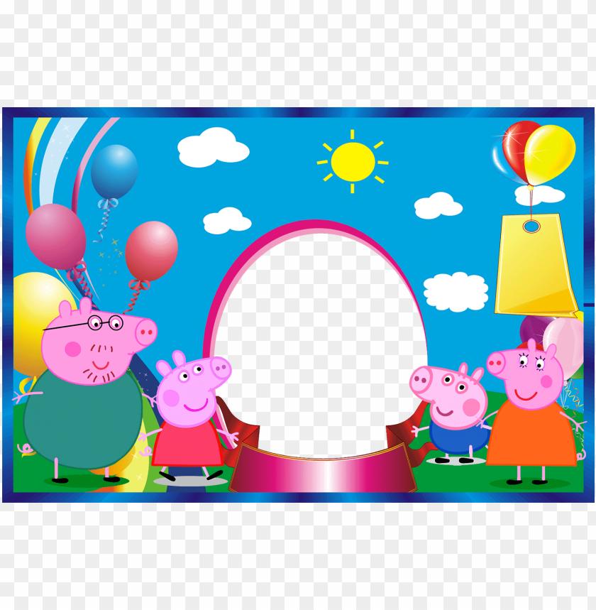 imágenes de cumpleaños de peppa pig y sus amigos mi.