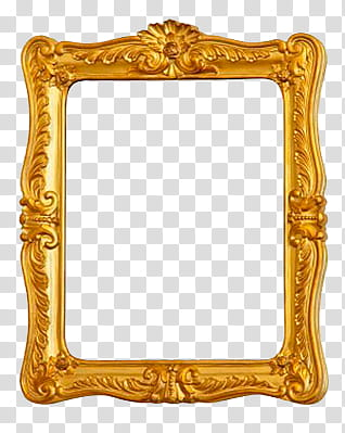 Marcos Vintage, brown painting frame transparent background.