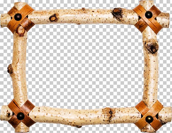 Marcos de madera para marcos PNG Clipart.