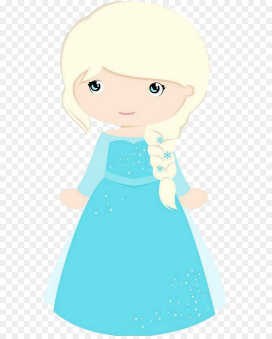2896 Elsa free clipart.