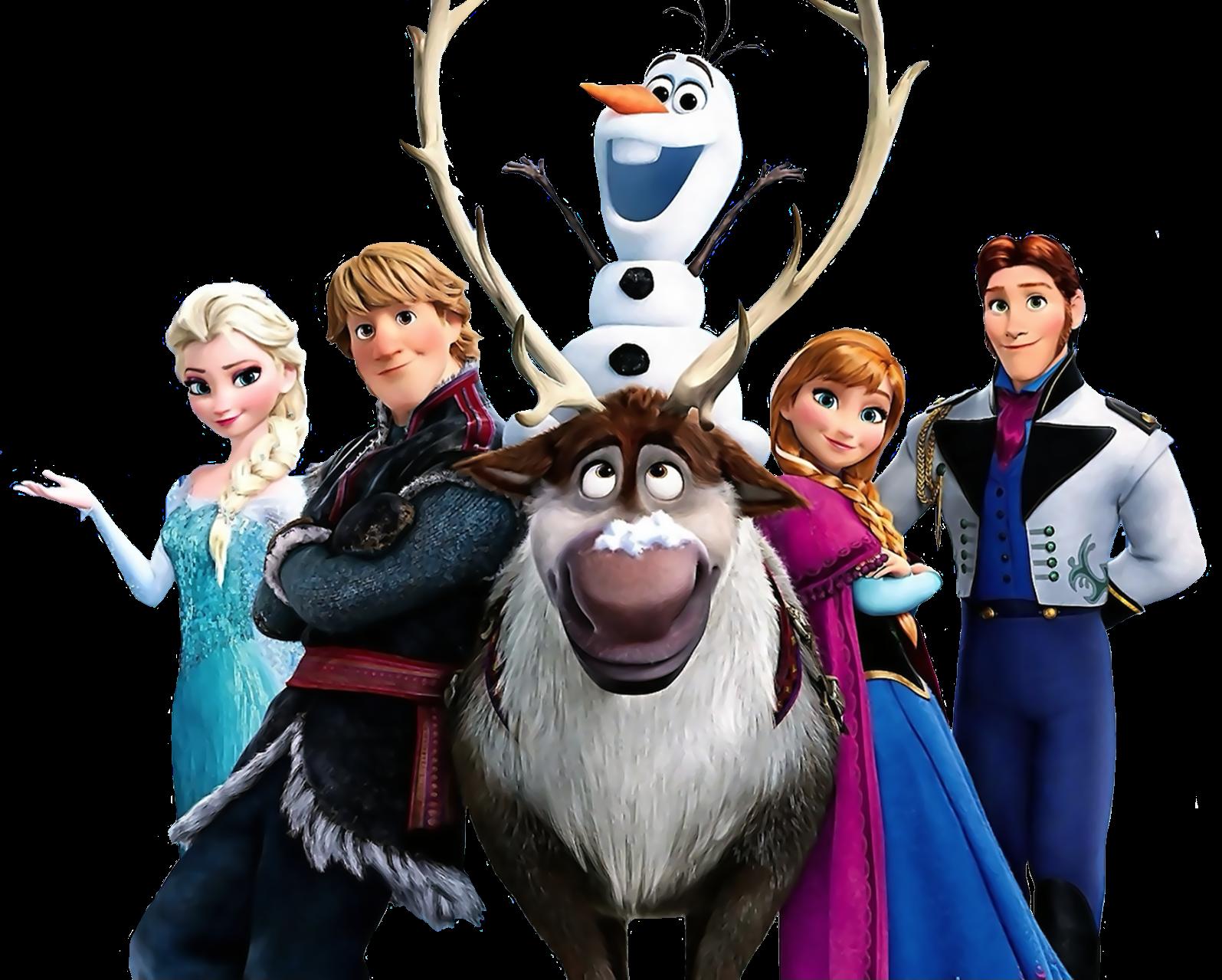 Frozen PNG Images, Elsa, Anna, Olaf Transparent Pictures.