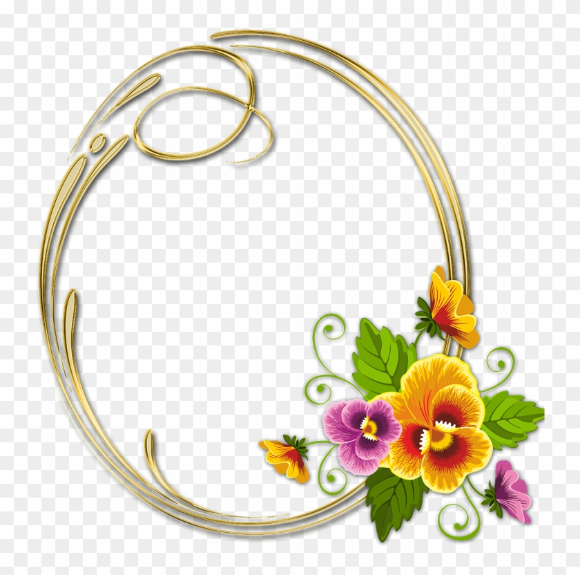 Lindos Marcos De Flores Para Fotos Clásicas Para Descargar.