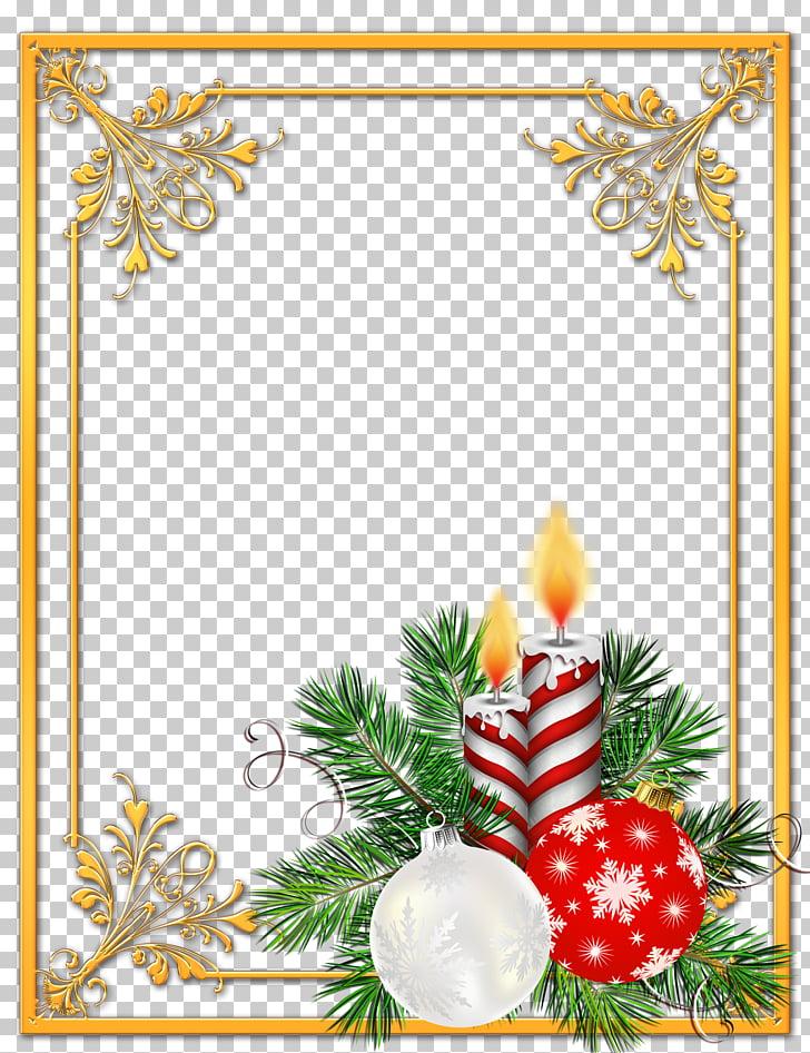 Marcos navidad navidad PNG Clipart.