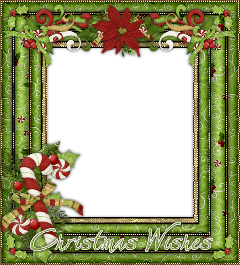Bellos Marcos para Fotos o Tarjetas para Navidad, para.