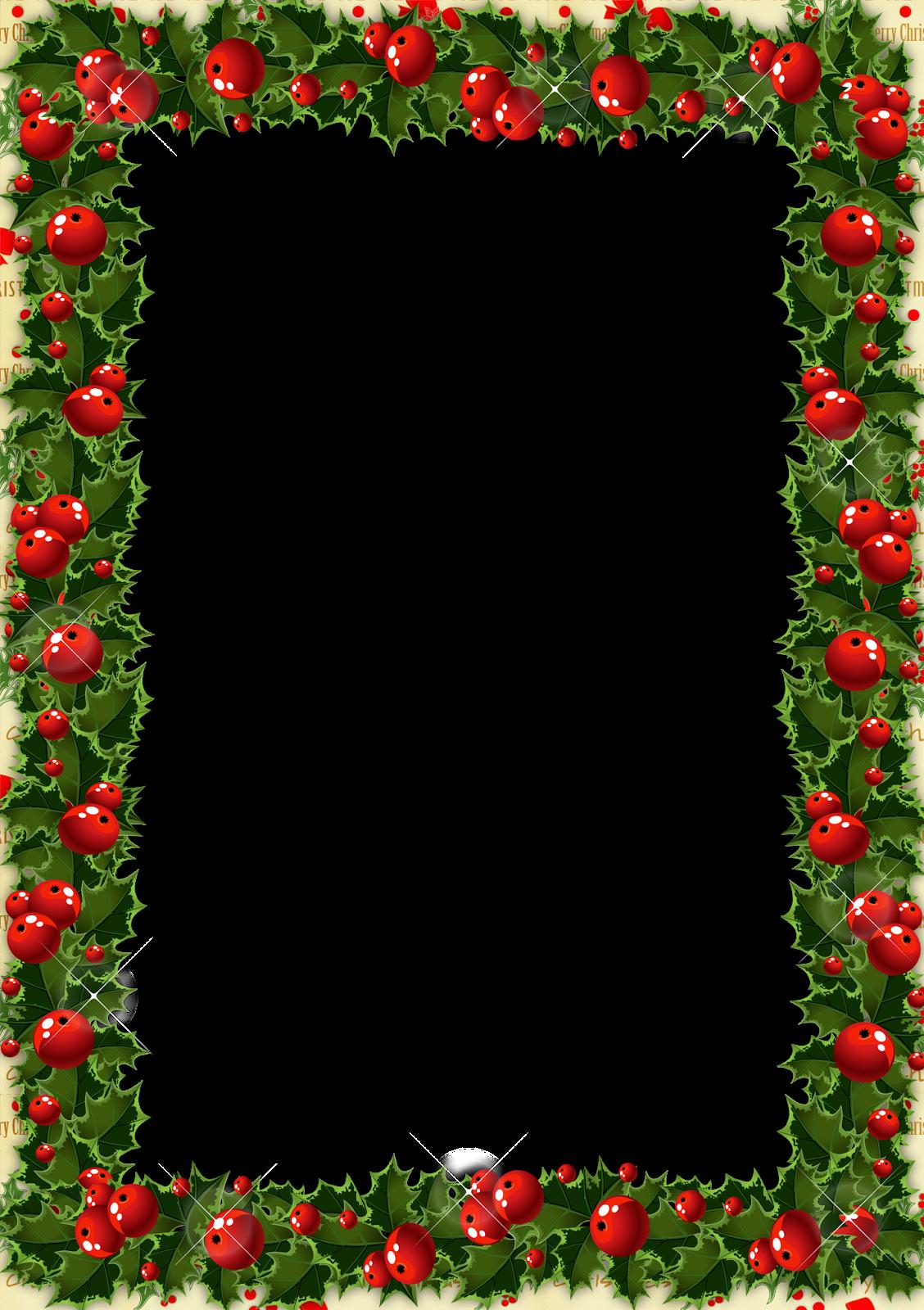 Marcos navideños en png.