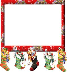 Las 194 mejores imágenes de marcos navidad.