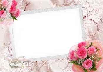 Más de 430 marcos de boda gratis para la dición de fotos online.