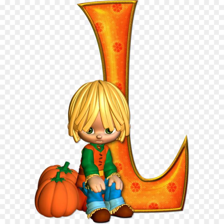 Alphabet Letter Clip Art Halloween Marcos Gratis Para Fotos.