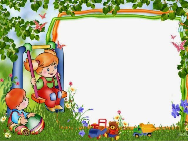 Maestra de Primaria: Marcos infantiles para fotos y marcos o.