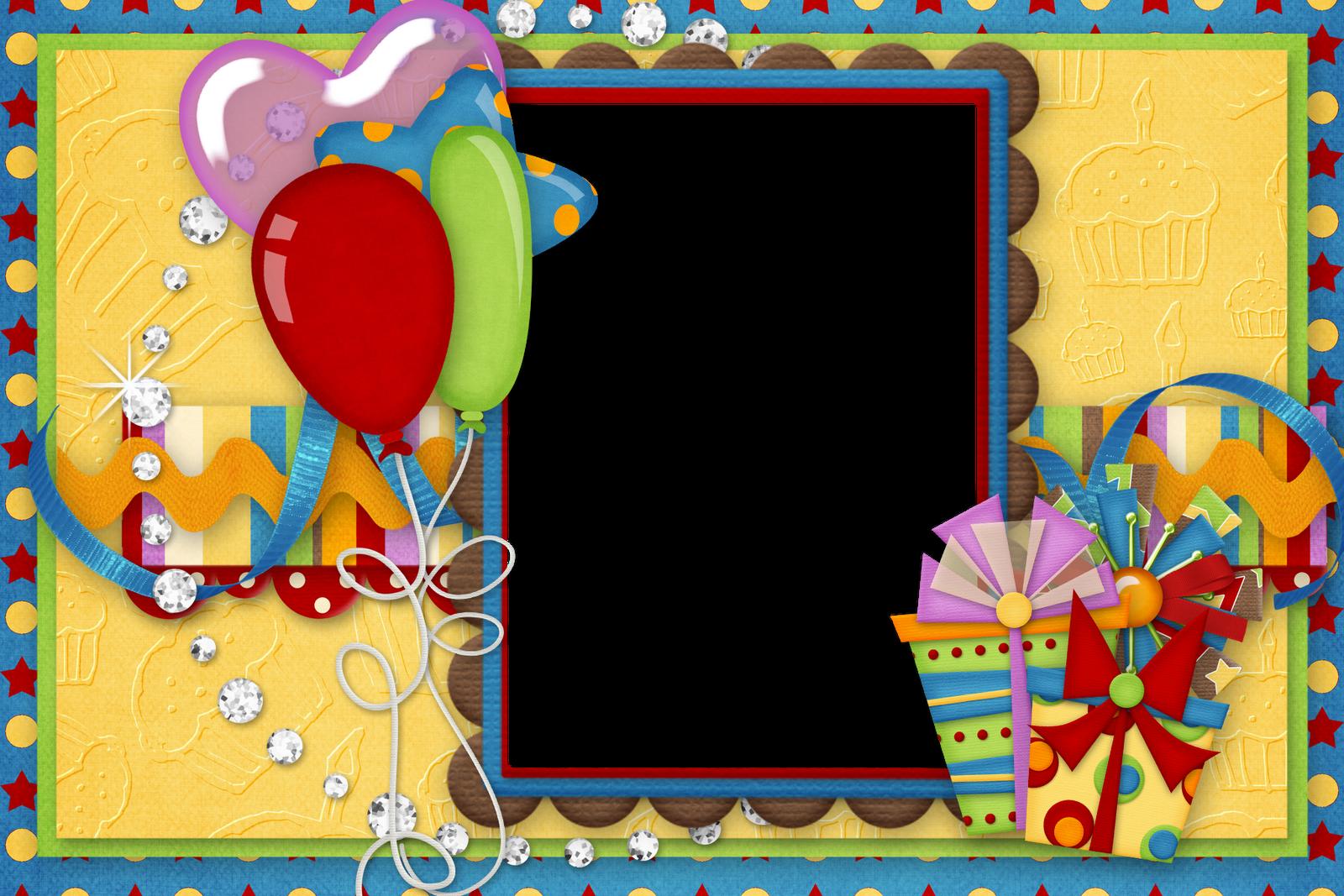 marcos para fotos de cumpleaños.