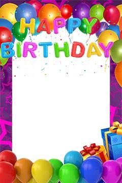 40+ Mejores Marcos para Fotos de Cumpleaños.