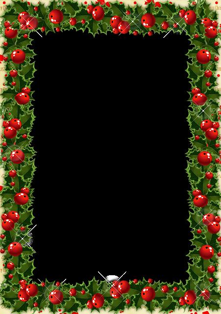 Marcos Navidad Png Vector, Clipart, PSD.