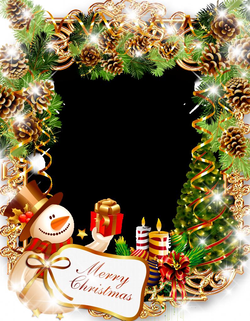 HD Marcos Para Tarjetas De Navidad Png.