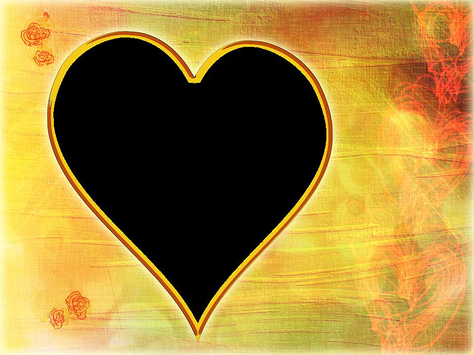 Día De La Madre Corazón Marco.