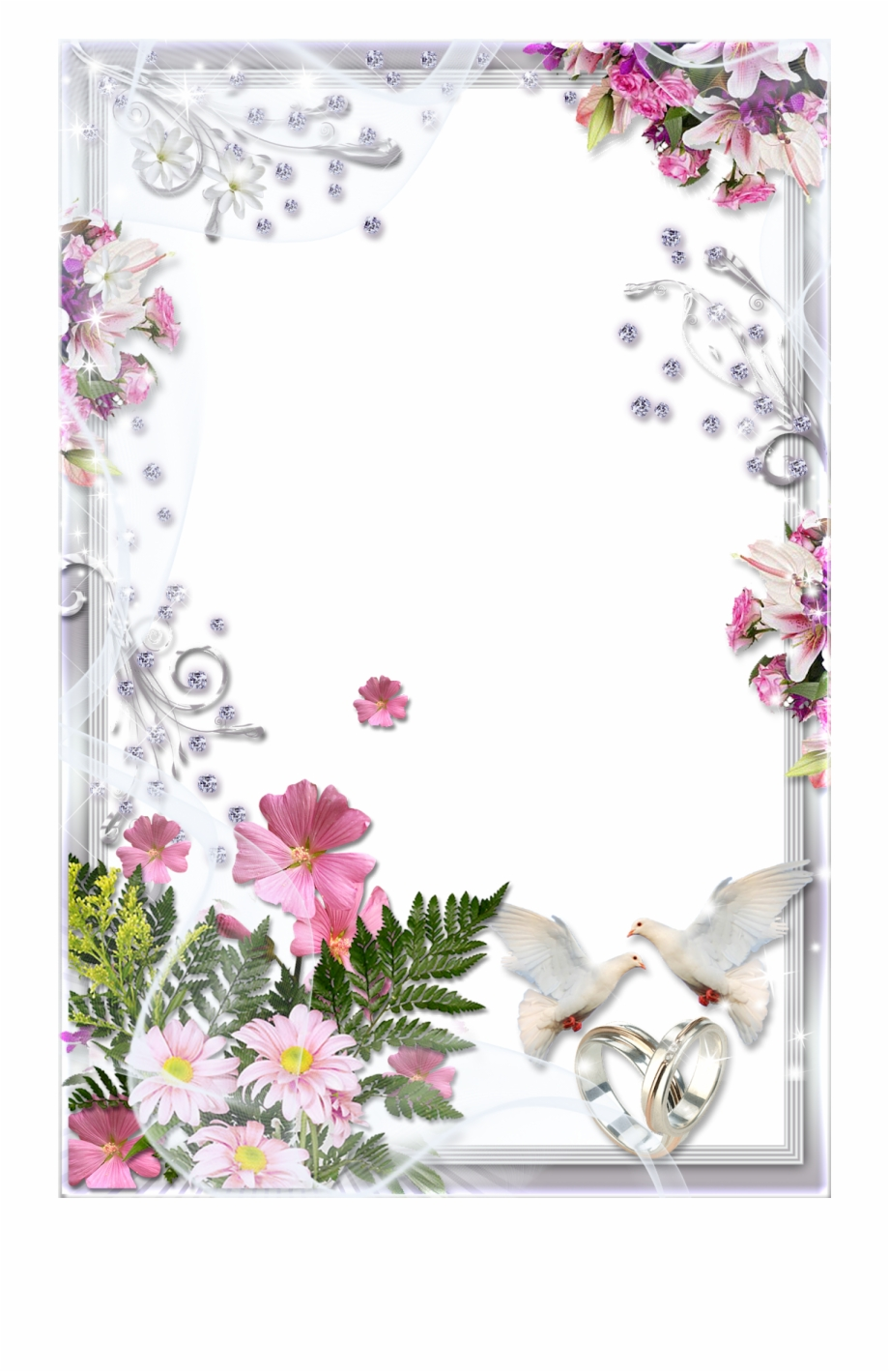 Wedding Frame Transparent Background {#1226101}.
