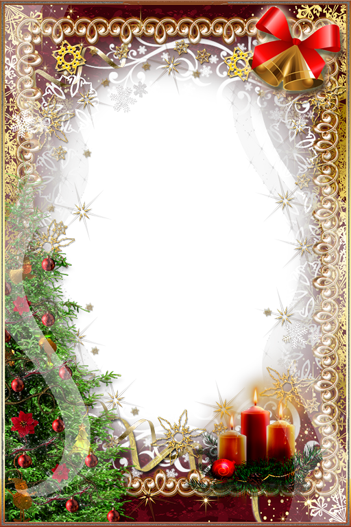 Christmas Card Frame clipart.