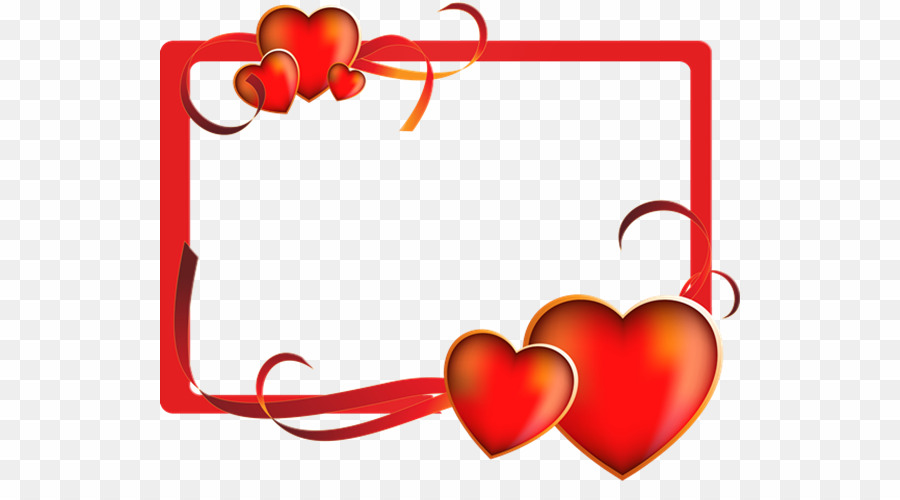 Marco San Valentin PNG Valentine\'s Day Picture Frames.
