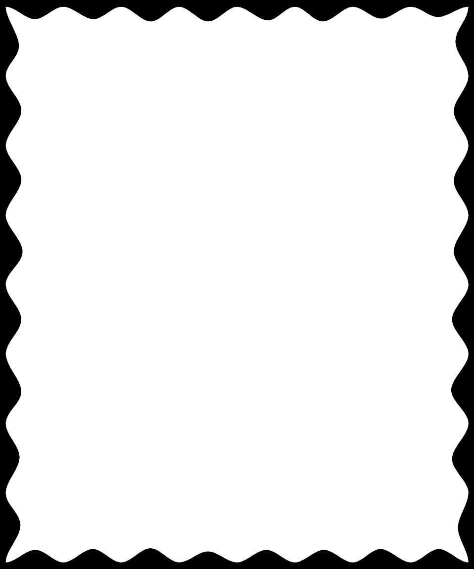 a blank frame border.