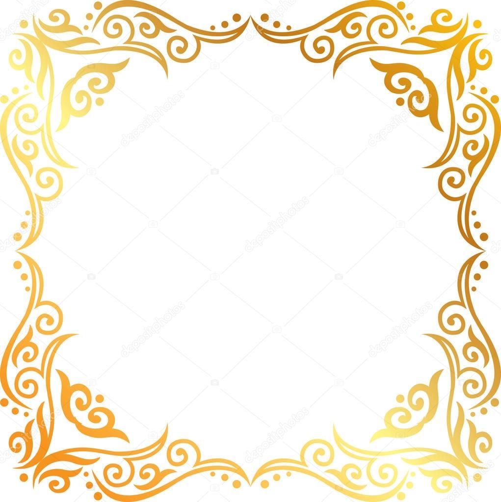 Vectores: dorados.
