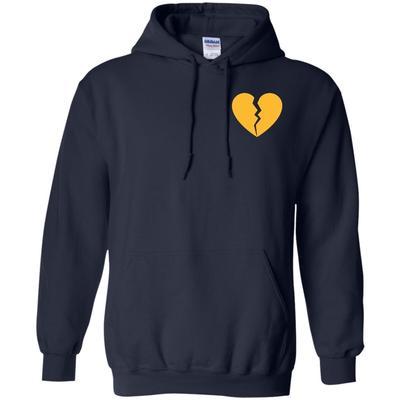 Marcus Lemonis Heart Logo On Hoodie.