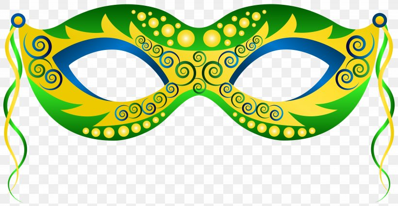 Mask Carnival Mardi Gras Clip Art, PNG, 8000x4149px, Mask.