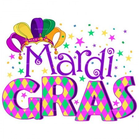 Happy Mardi Gras Clipart.