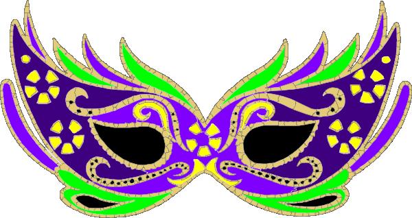 Purple Masquerade Mask.