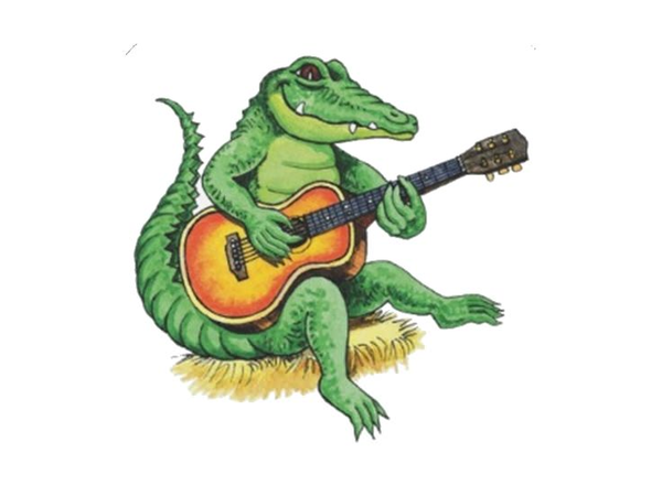 1692 Alligator free clipart.