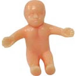 King Cake Baby Clipart.