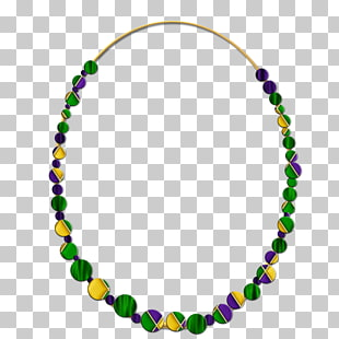 50 mardi Gras Beads PNG cliparts for free download.
