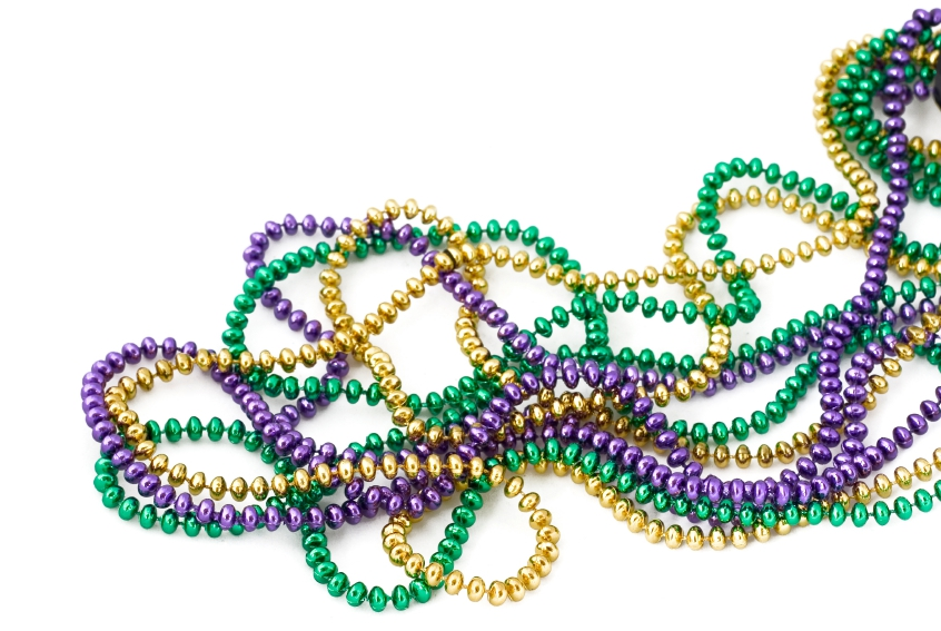 Mardi gras bead clipart 3 » Clipart Station.