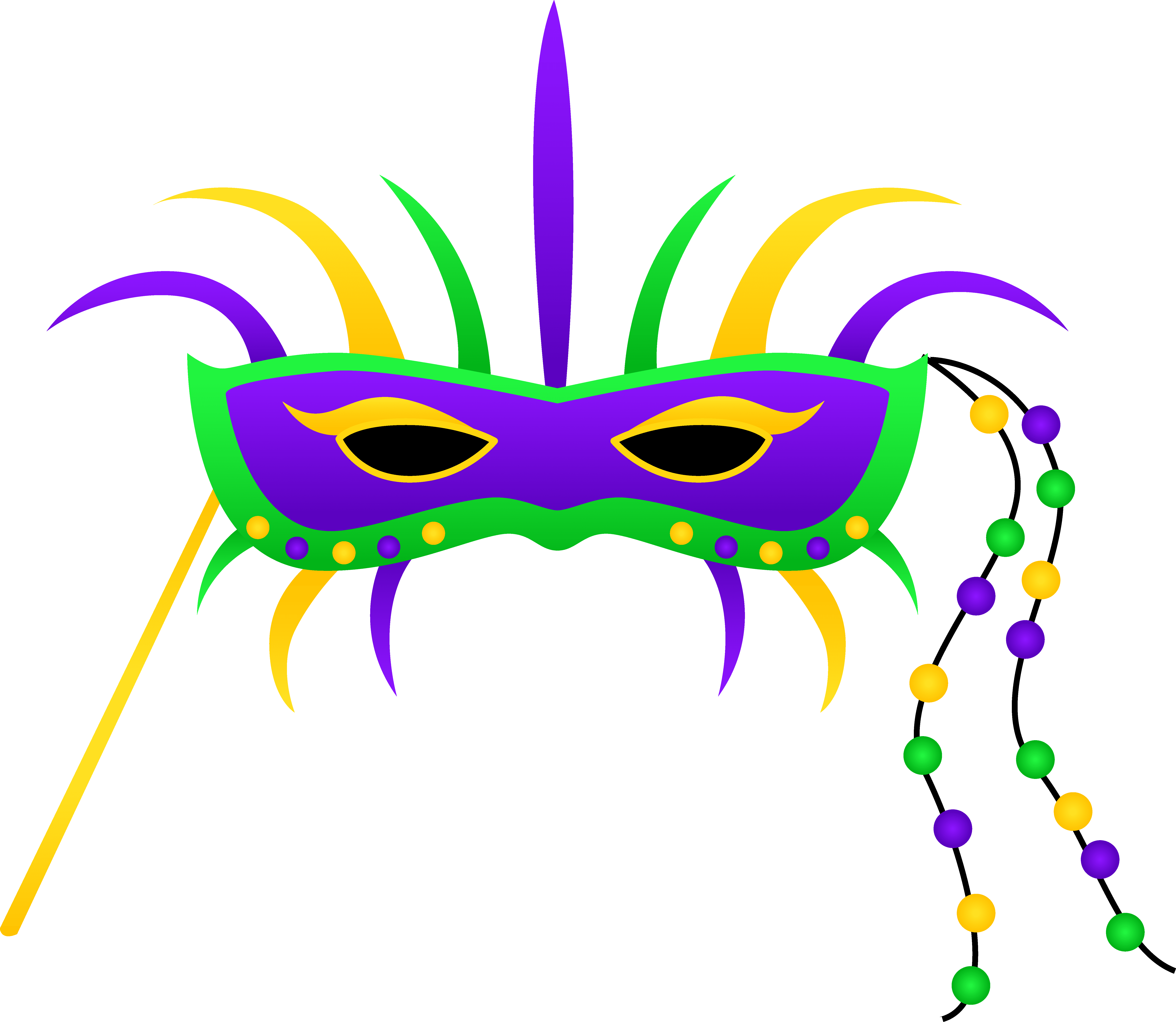 Clipart Of Louisiana, Budgeting And Color Bead.