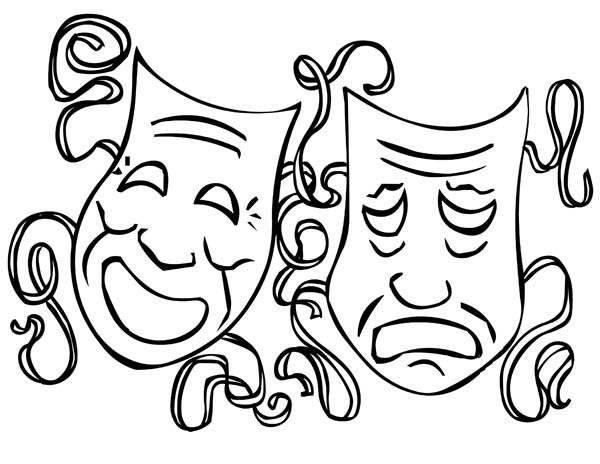 Free Mardi Gras Clipart Black And White, Download Free Clip.