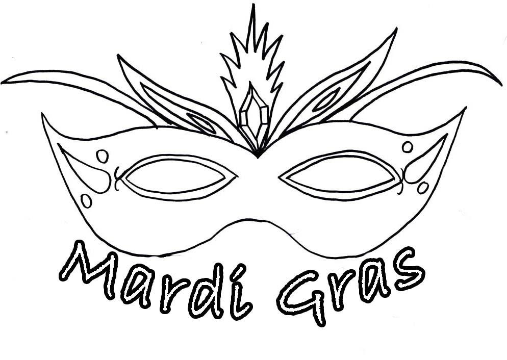 Mardi gras clipart black and white 3 » Clipart Portal.