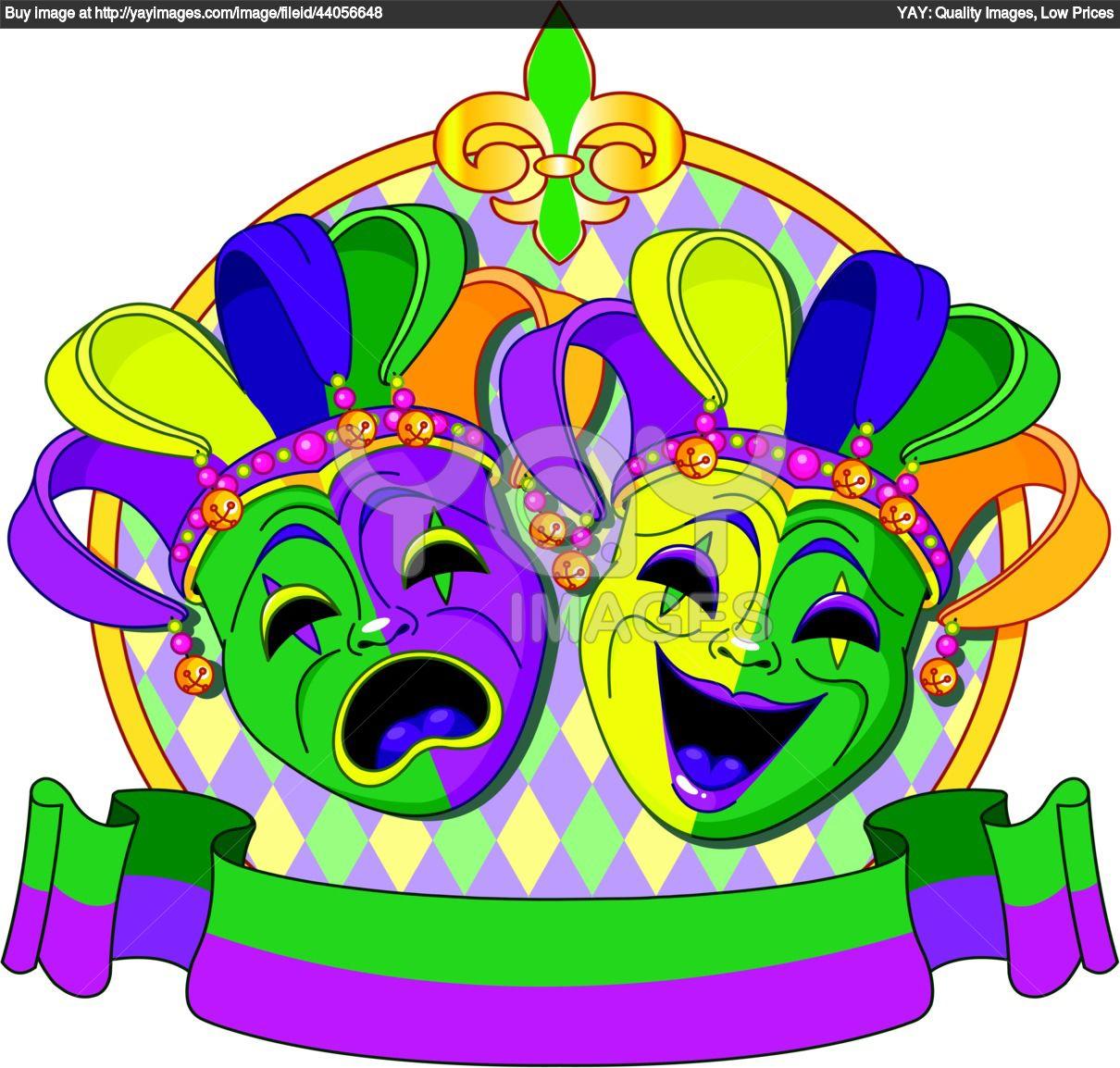 Mardi Gras Float Clipart.