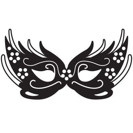 Mardi gras mask clipart black and white 4 » Clipart Portal.