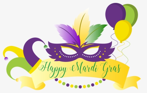 Free Mardi Gras Clip Art with No Background.