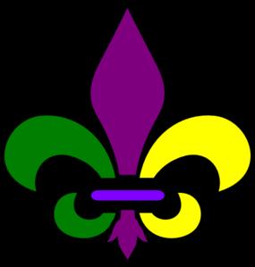 New Orleans Fleur De Lis clip art.