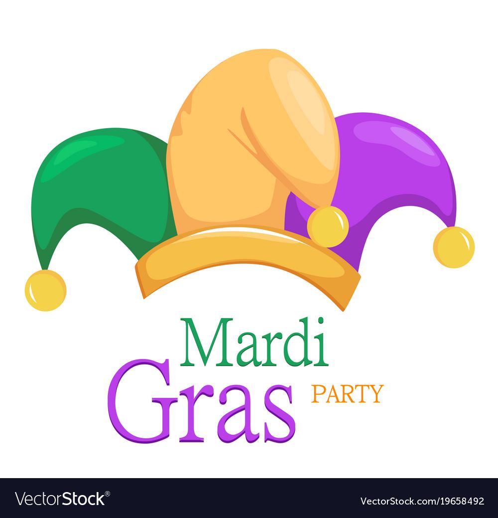 Mardi gras jester hat.