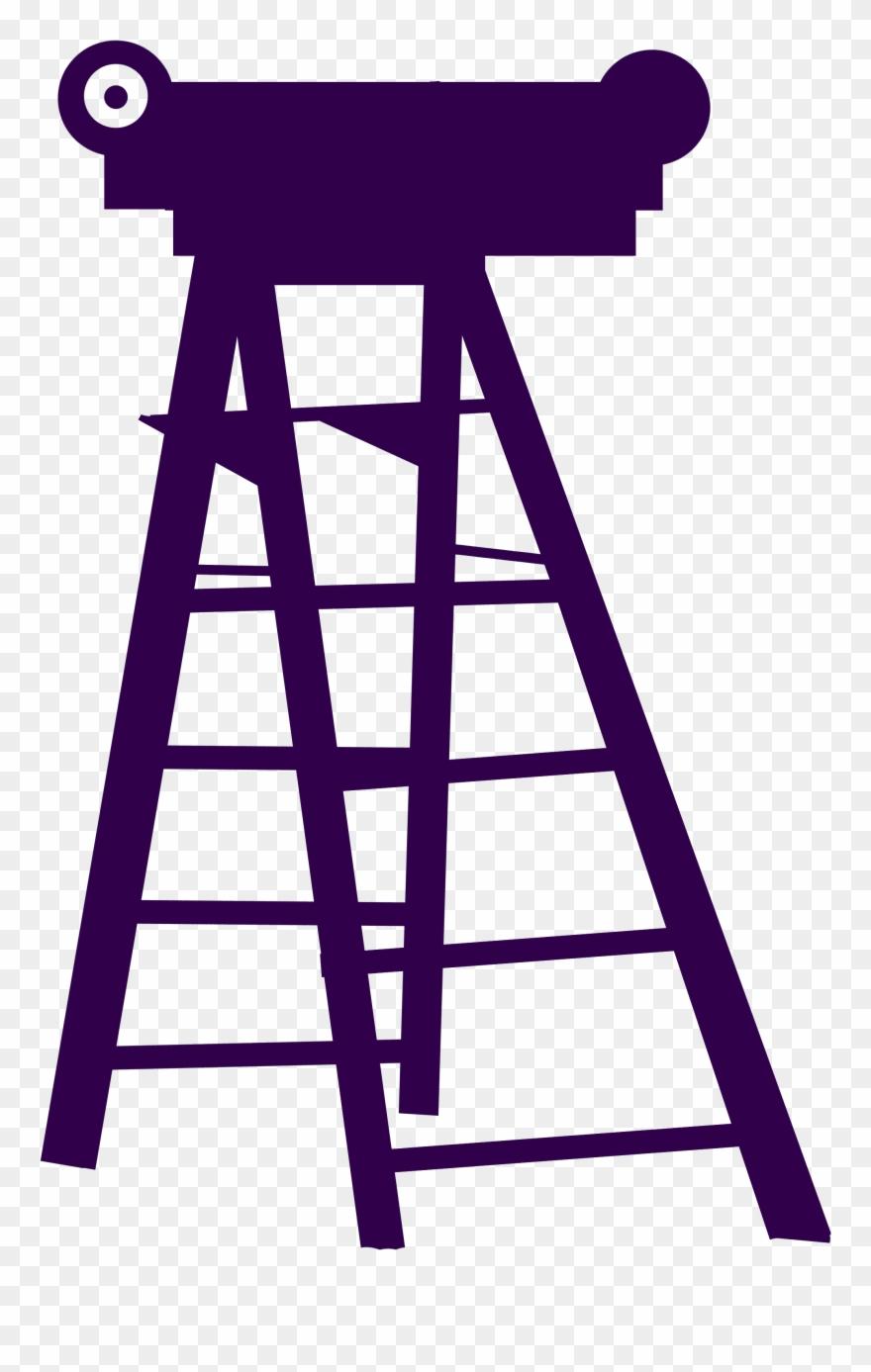 Mardi Gras Ladder Clipart.