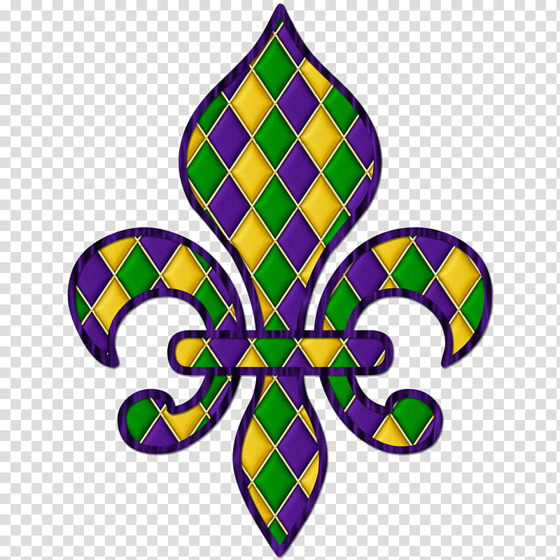 FREE Harlequin Pattern Mardi Gras Fleur Graphic transparent.