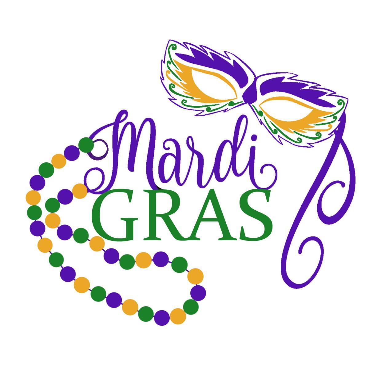 Mardi Gras Clipart.