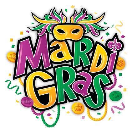 Mardi Gras Free Clipart.